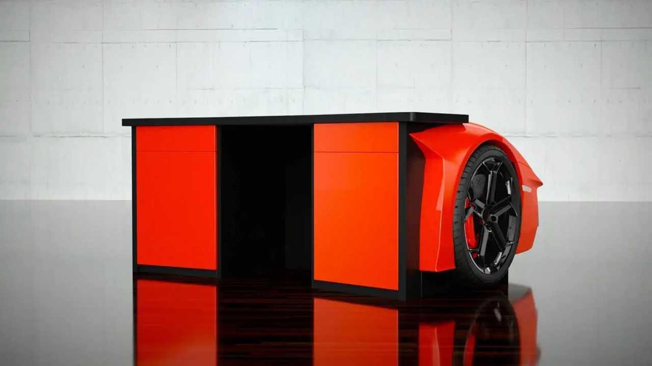 Lamborghini Aventador escritorio