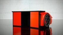 Bureau Lamborghini Aventador