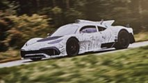 Merecdes-AMG Project One prototype en tests