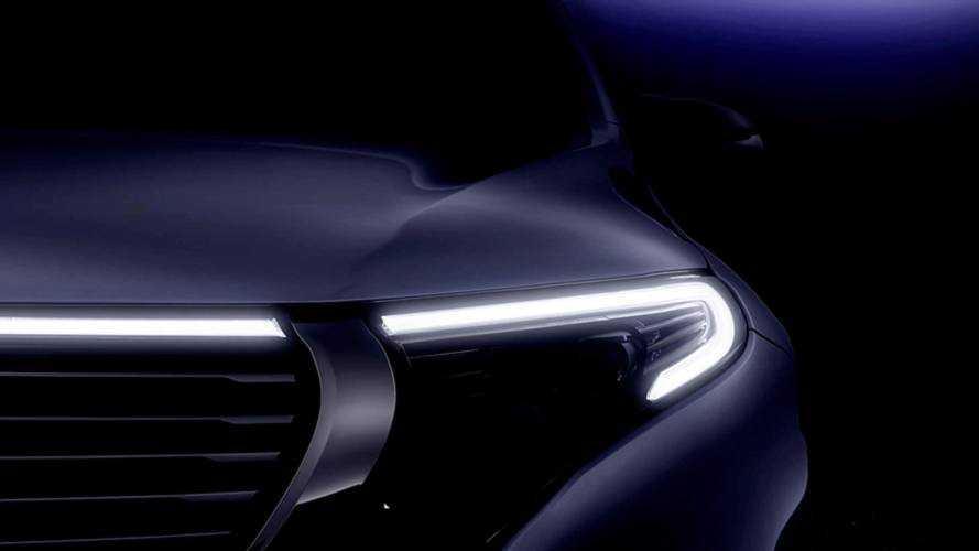 Primeiro SUV elétrico da Mercedes, EQC tem detalhes revelados em teaser