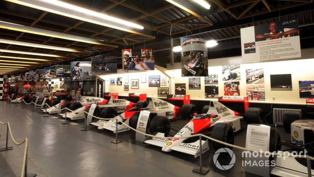 The McLaren F1 car collection at Donington