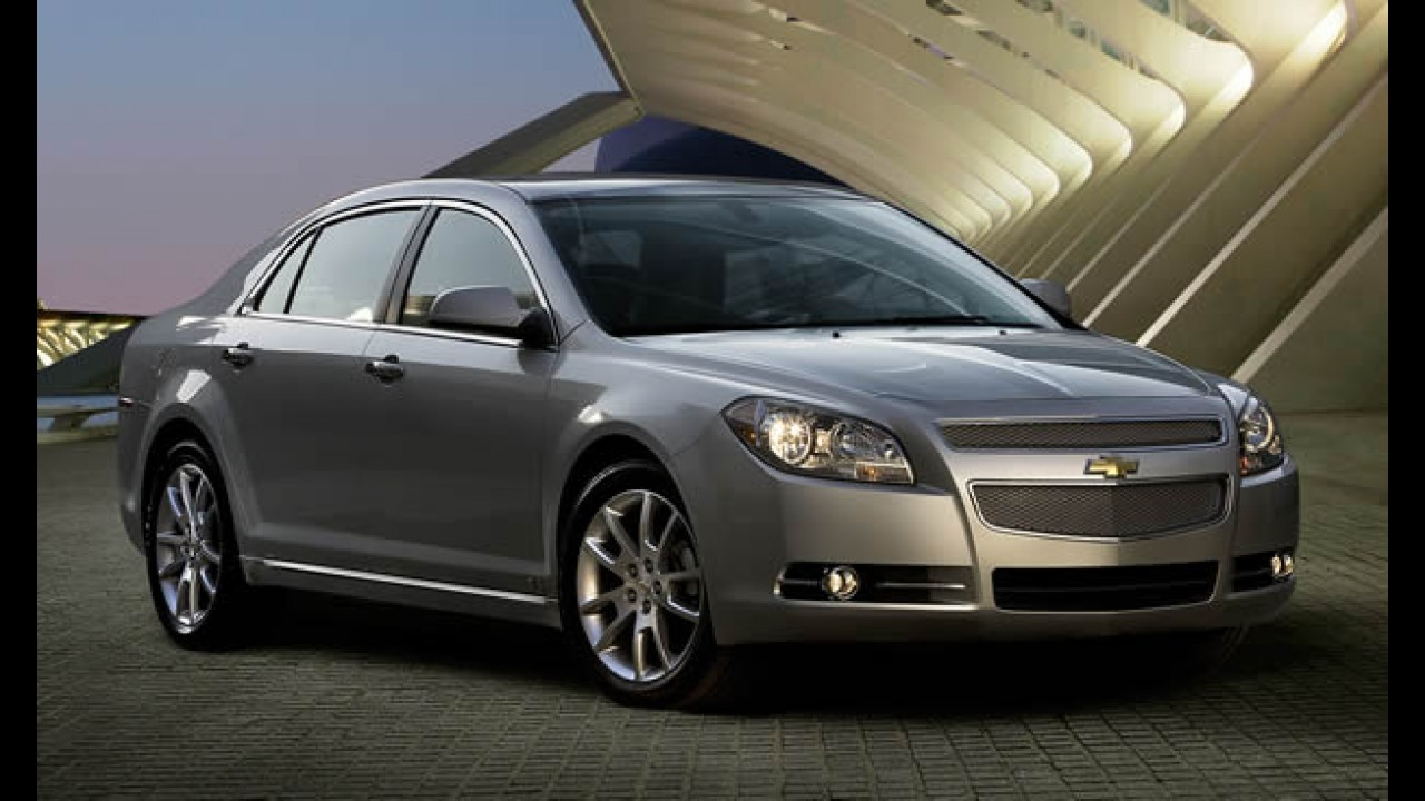 Chevrolet confirma lançamento do Malibu em junho no Brasil