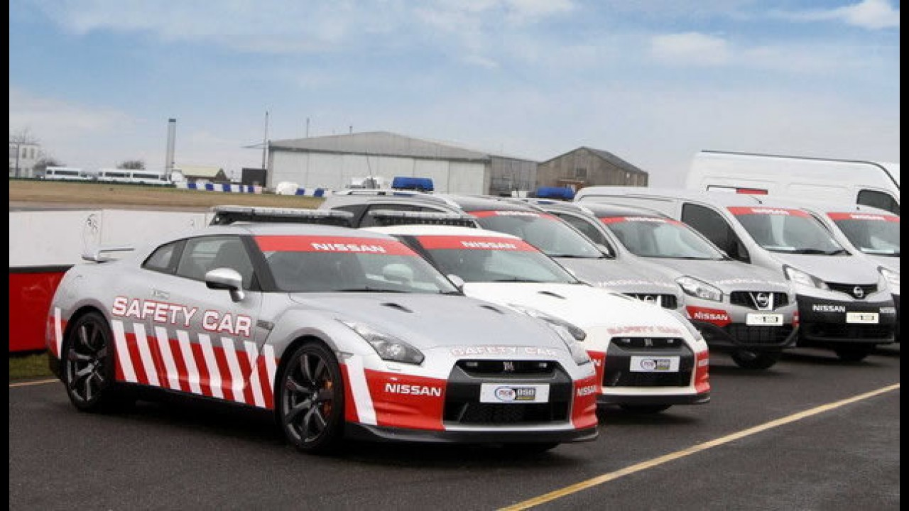 Nissan GT-R vira Safety Car no Reino Unido