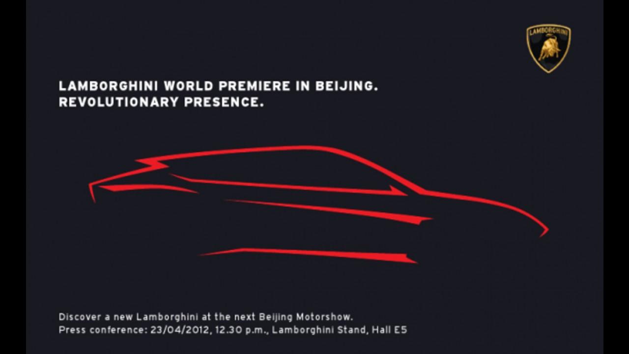 Lamborghini revela primeiro teaser de seu novo SUV, que se chamará Urus