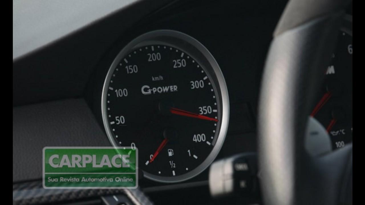 Vídeo Insano: BMW M5 G-Power chega a 359 km/h na Autobahn