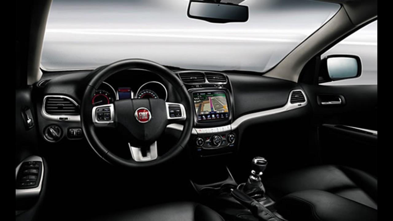 Fiat divulga fotos do interior do Freemont
