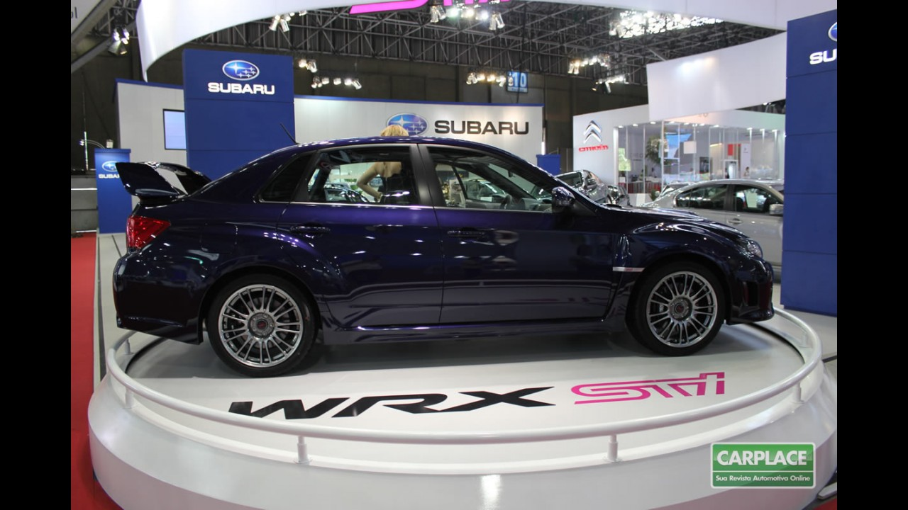 Subaru Impreza WRX STI Sedan chega às lojas por R$ 220 mil