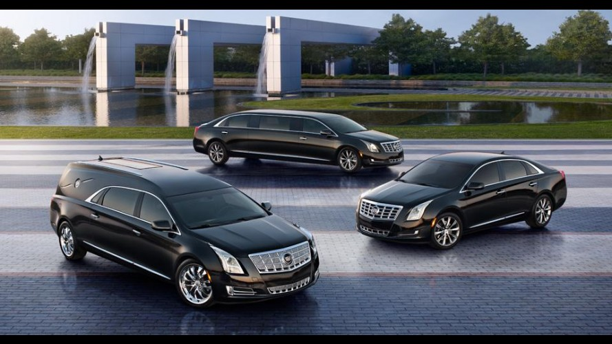 Cadillac divulga detalhes do sedã XTS em versões Limousine, Livery e Funeral