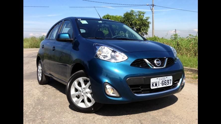 Nissan March terá índice de nacionalização de 80% já em 2015