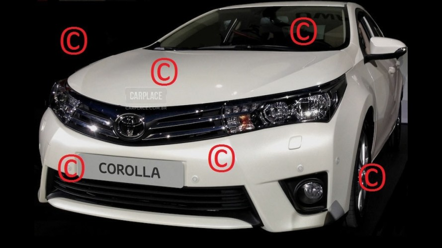 Este é o Novo Toyota Corolla 2014!!