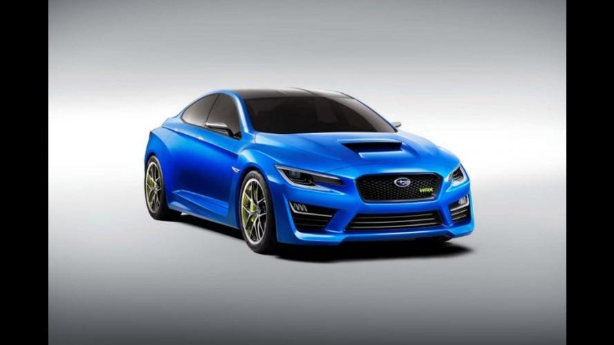 WRX Concept: a agressividade volta ao esportivo da Subaru