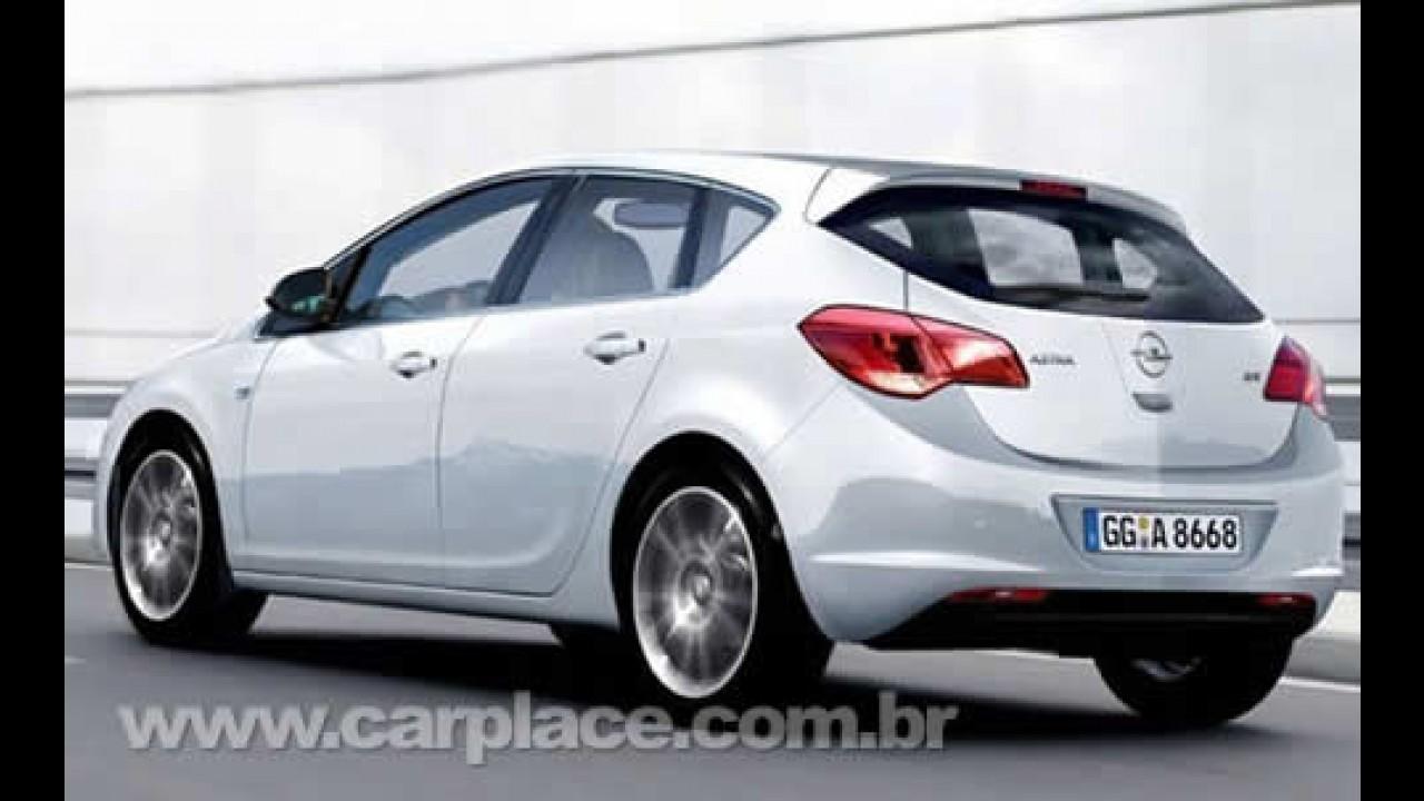 Novo Opel Astra 2010 - Suposta imagem oficial da nova geração vaza na internet