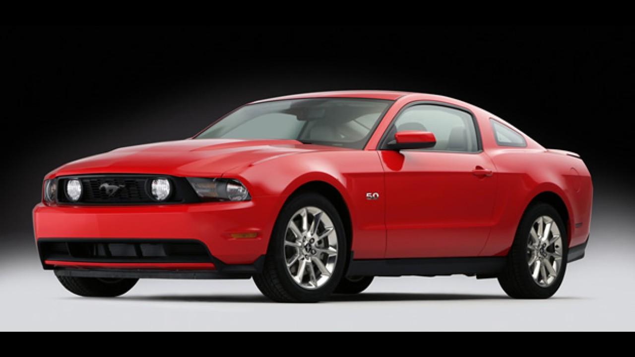 Ford revela o Novo Mustang GT 2011 com motor V8 5.0 de 417cv - Veja fotos em alta resolução
