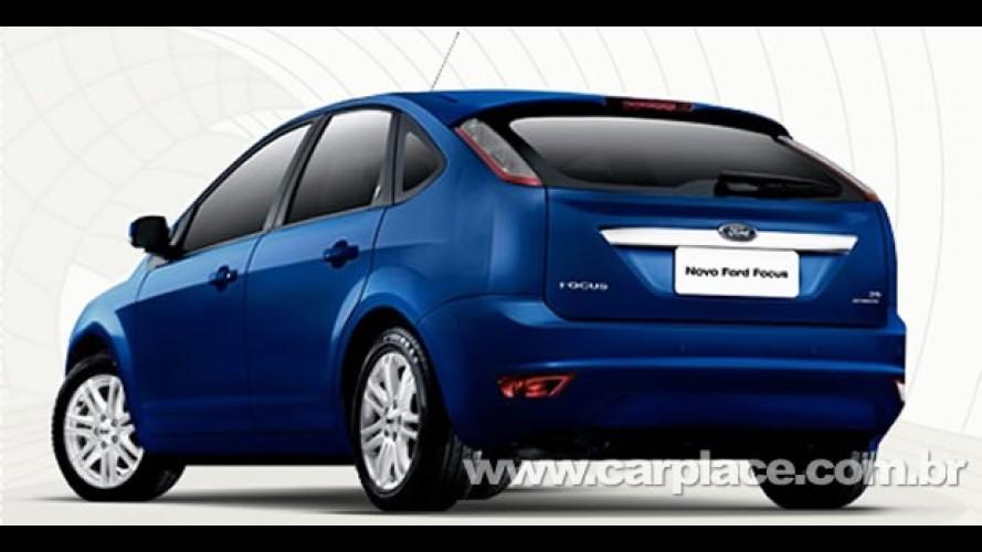 Ford já oferece Novo Focus com novas cores - Revenda diz que 2.0 Flex chega em setembro