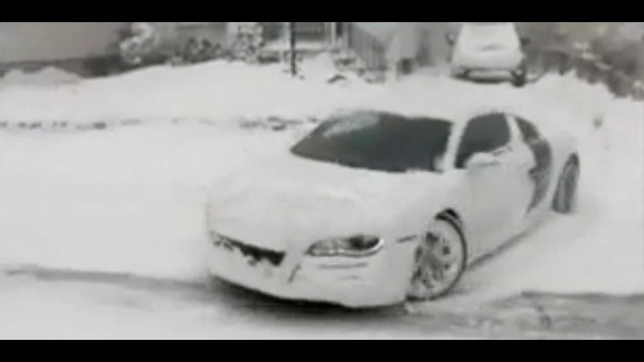 VÍDEO: Dono de um Audi R8 mostra o poder da tração Quattro drive na neve
