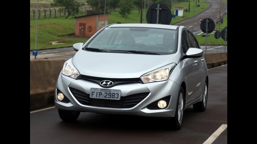 Hyundai HB20 foi o carro mais financiado do Brasil em julho