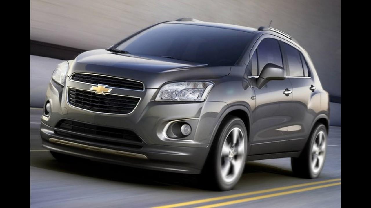 GM anuncia produção do Chevrolet Trax no México