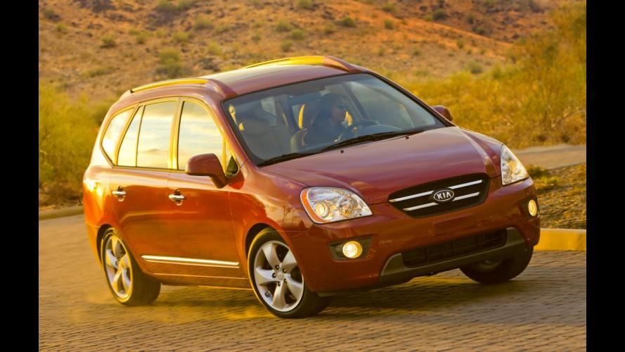 Kia convoca mais de 145 mil veículos para recall por problemas no airbag do motorista