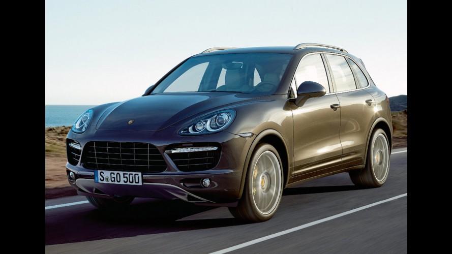 Porsche convoca 102 mil unidades do SUV Cayenne para recall