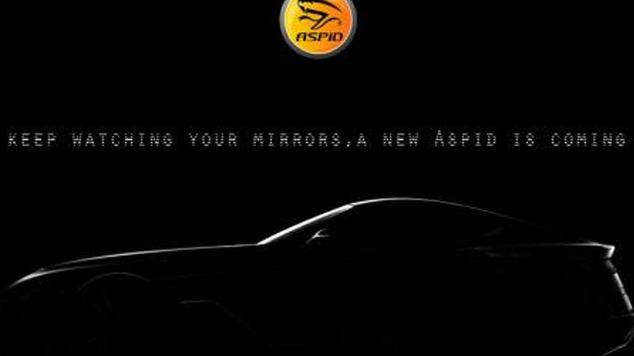 Aspid sports car teased