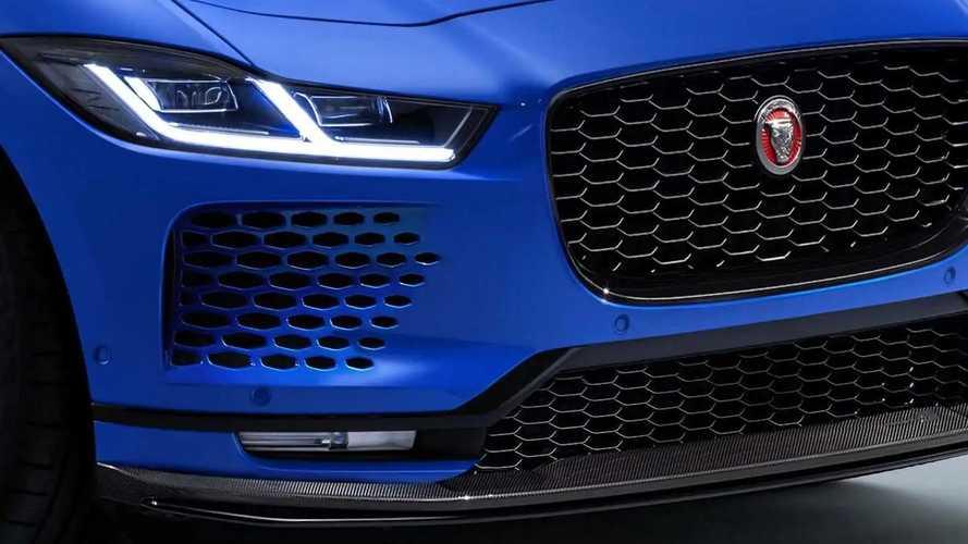 Рендеры Jaguar I-Pace SVR от Motor1