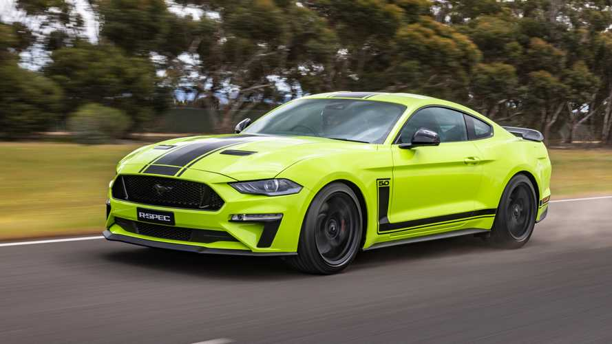 Ford Mustang R-Spec Arrives As Supercharged Pony Car For Folks Down Under