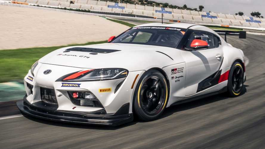 Race-ready Toyota Supra GT4 revealed with 429 bhp