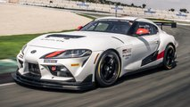 Toyota Supra GT4 Race Car