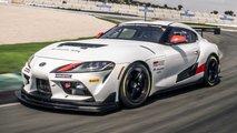 Toyota Supra GT4 de competencias
