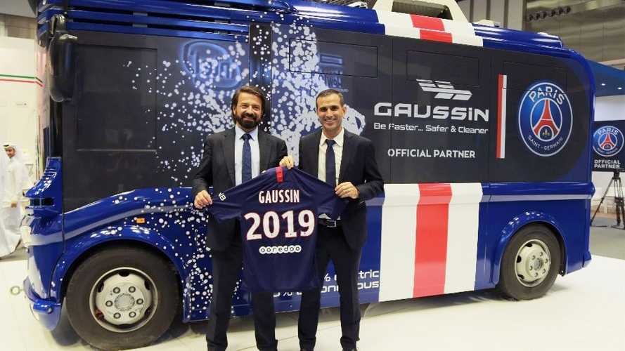 Le Paris Saint-Germain et Gaussin s'associent pour la fourniture de véhicules autonomes