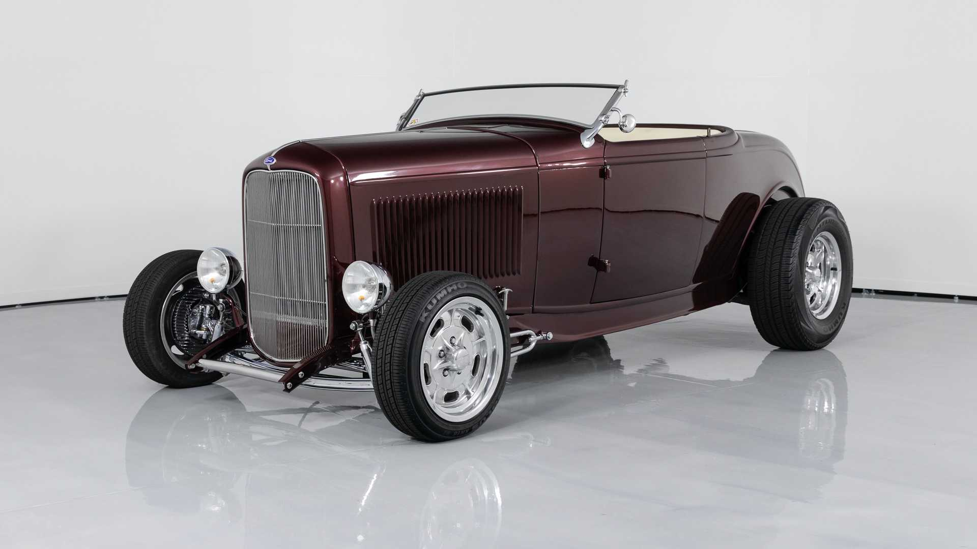 """[""""Steel-Bodied Deuce Hi-Boy Roadster Can Be Yours For $70k""""]"""