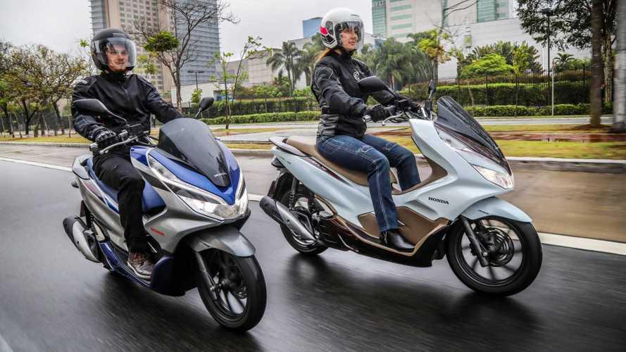 Honda PCX 150 2020 chega às lojas com nova versão ABS