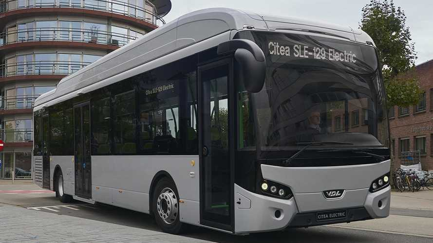 VDL Introduces Citea SLE-129 Electric At Busworld