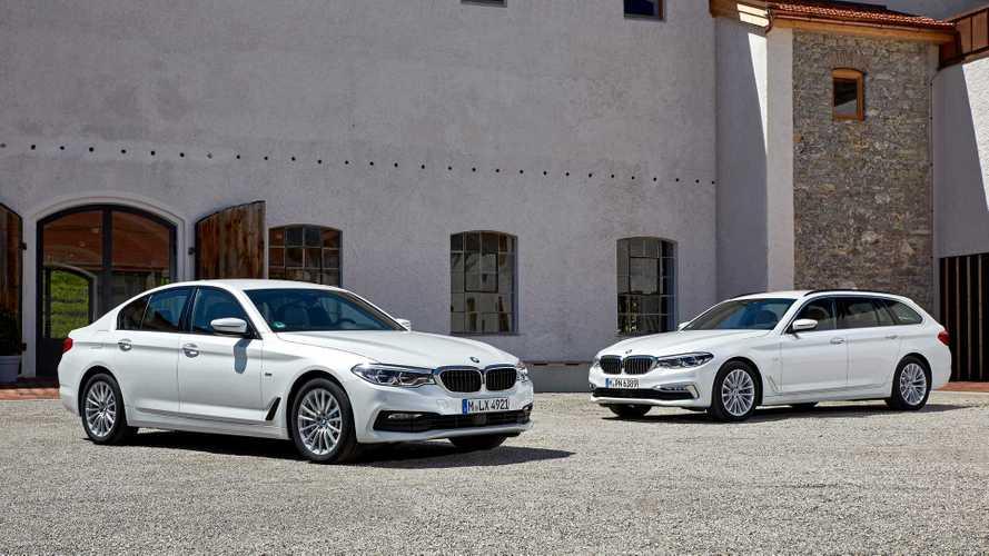 Enyhe-hibrid technológiával gazdagodott az új 5-ös BMW