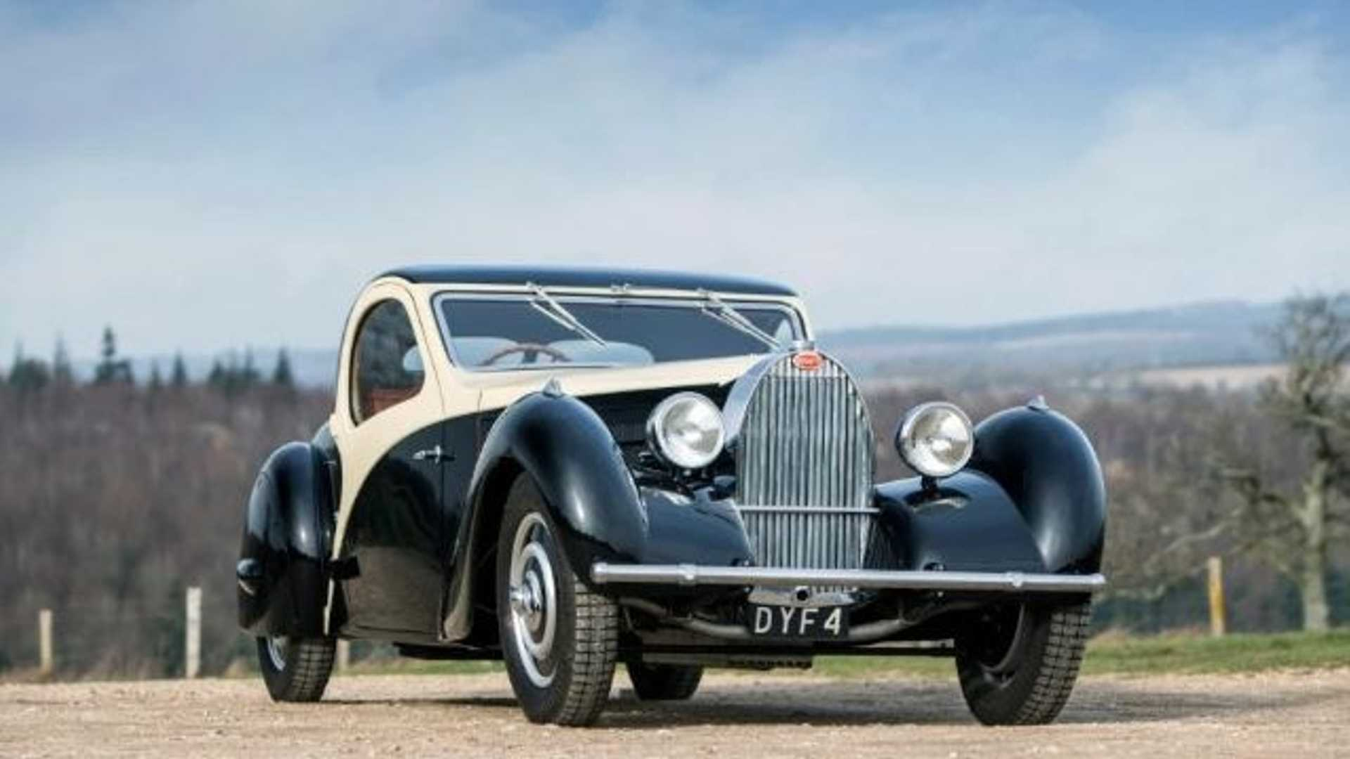 "[""1957 Bugatti That Inspired Cruella De Vil's Car In 101 Dalmatians Sells For $1.5M""]"