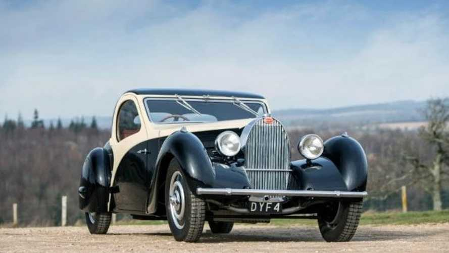 Rare 1935 Bugatti That Inspired Cruella De Vil's Car In 101 Dalmatians Sells For $1.5M