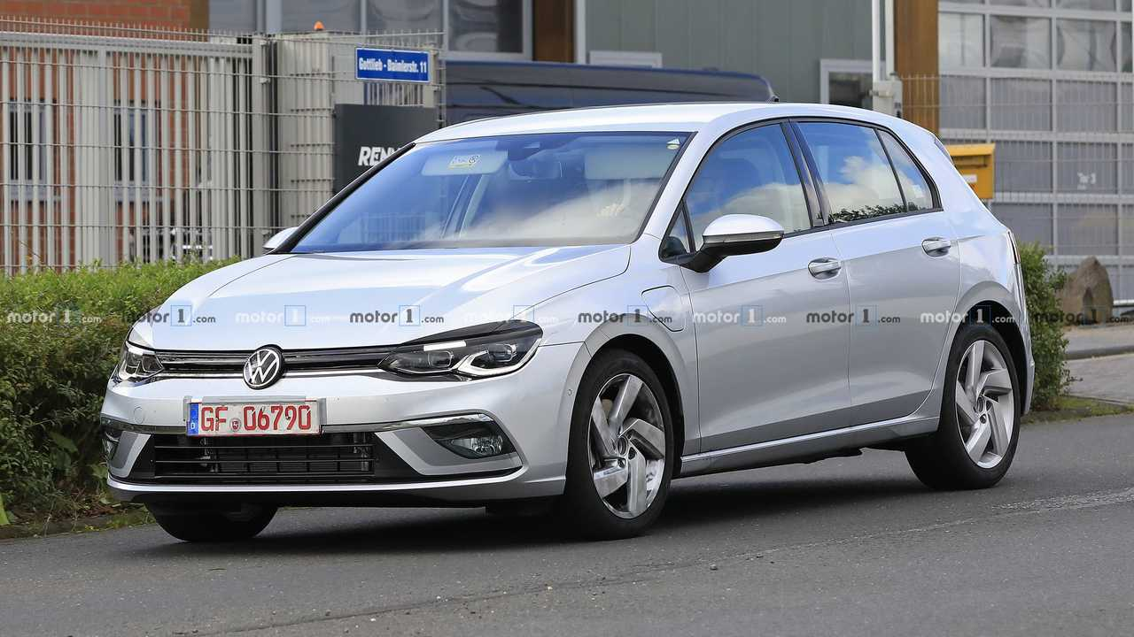 Nouvelle photo d'espion VW Golf GTE