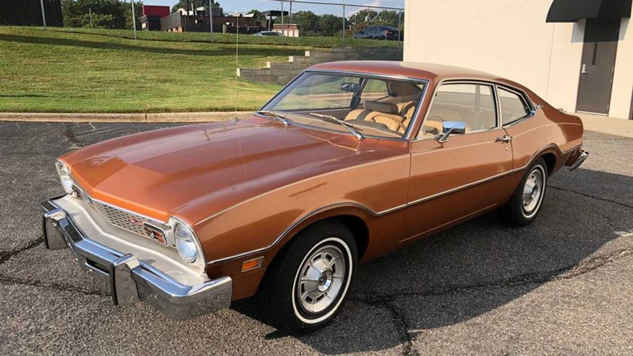 1974 Ford Maverick Raises $39.5K For Vision Research Charity