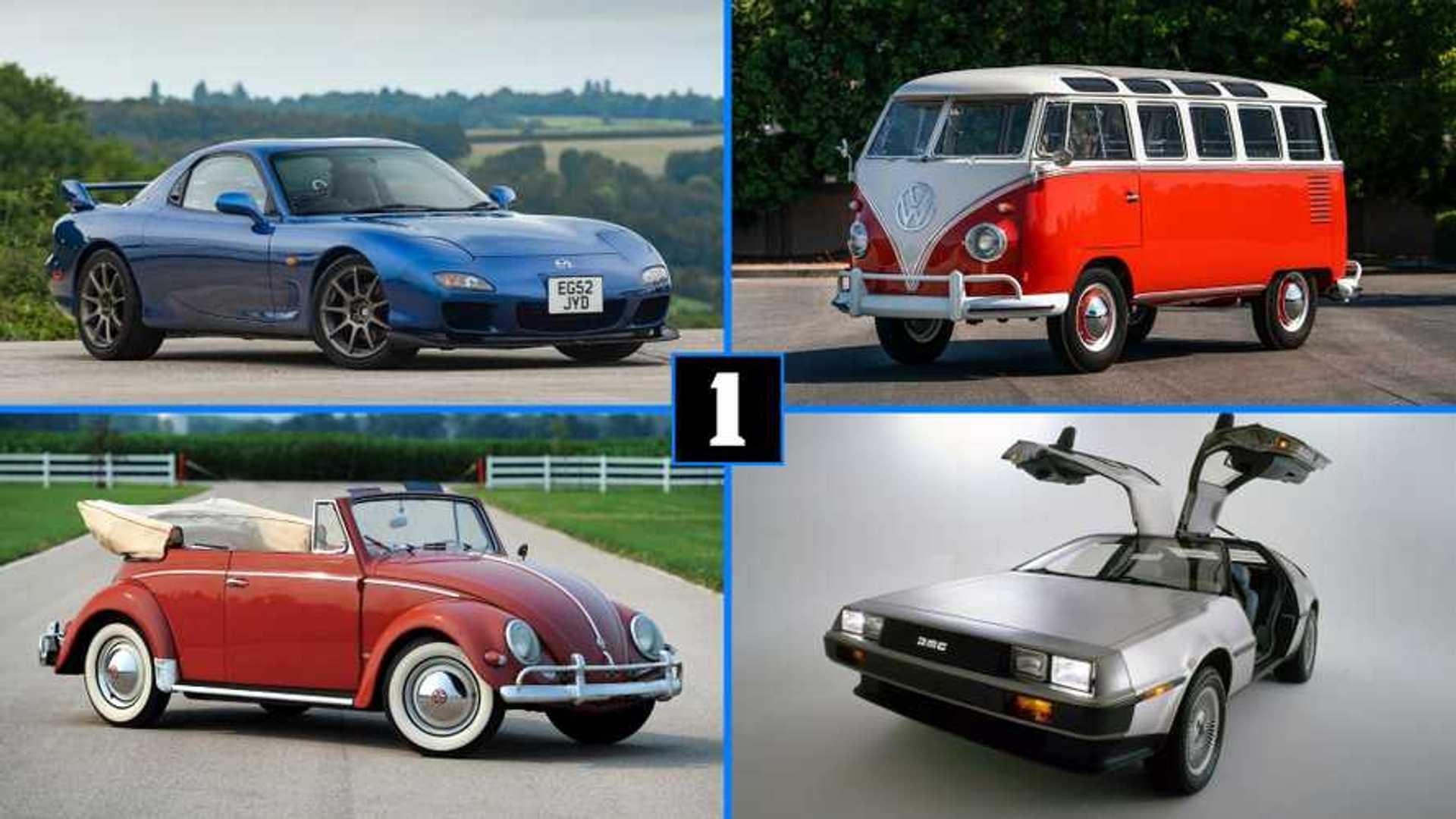 Les voitures anciennes les plus appréciées d'Instagram