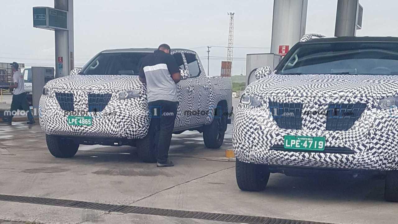Picape Peugeot - Flagra no Brasil