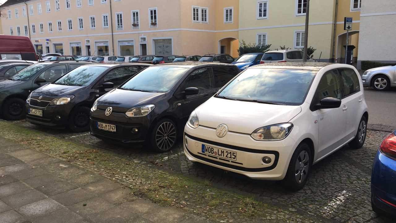 Volkswagen up! и Skoda Citigo
