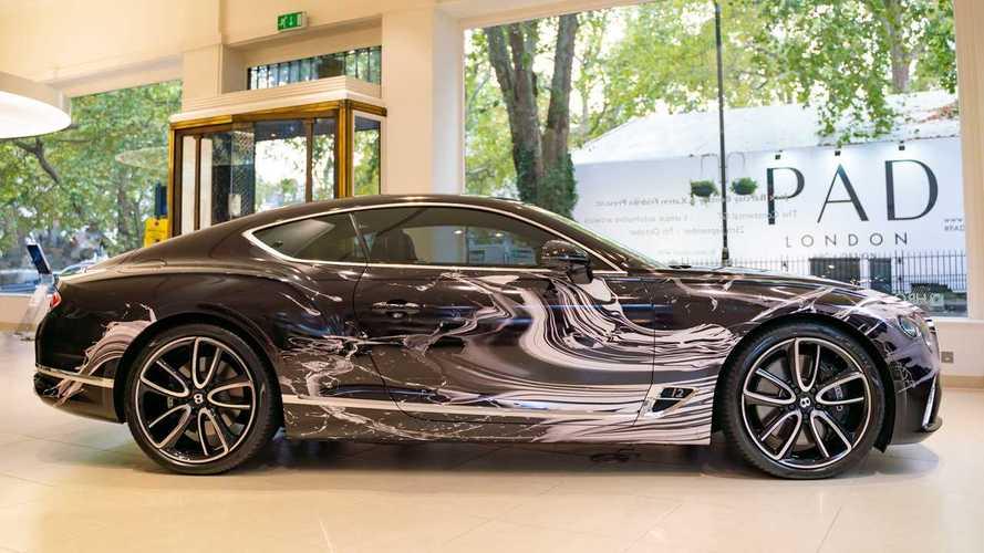 Este Bentley Continental GT único es una obra de arte