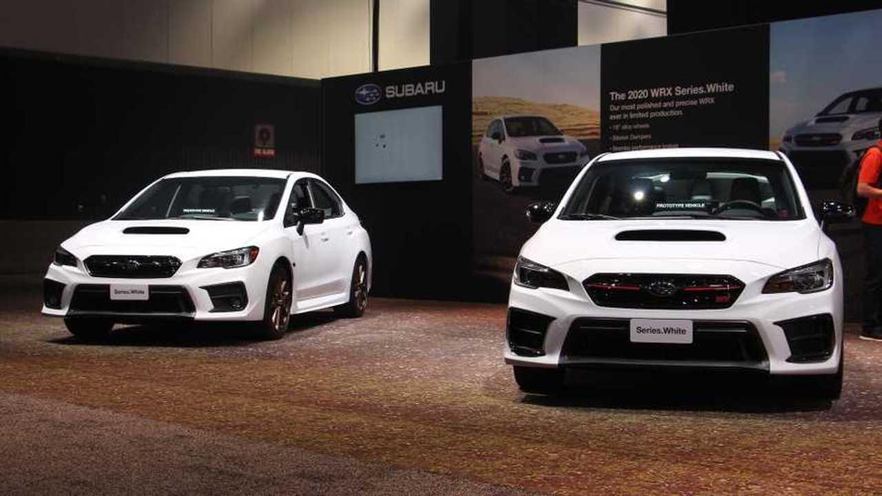 Subaru WRX / STI Series.White