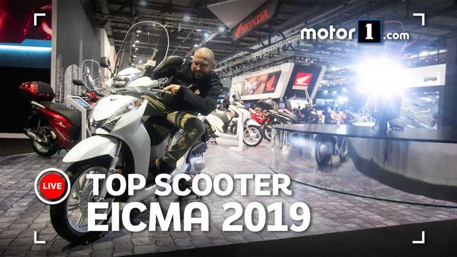 EICMA 2019, la Top 3 degli scooter da città