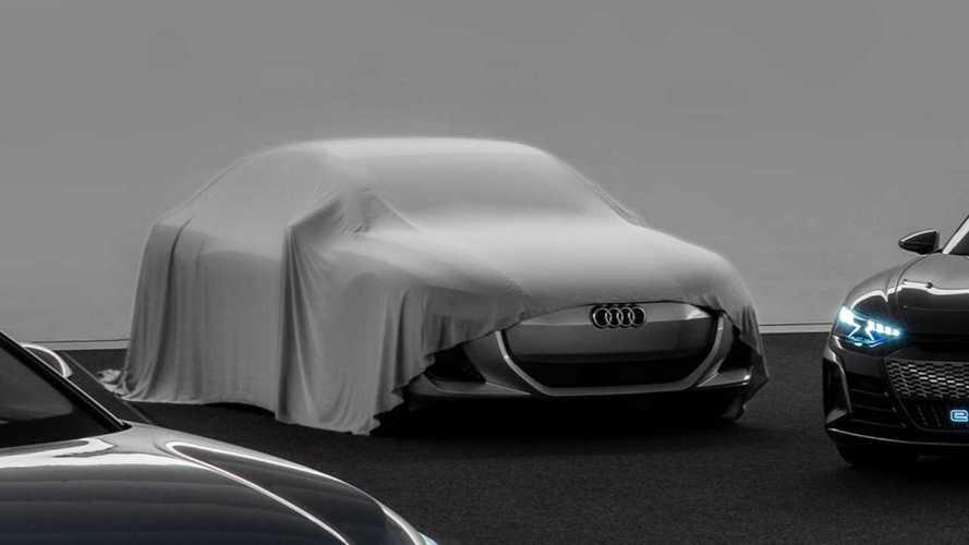 Audi s'électrifie et tease un nouveau modèle électrique