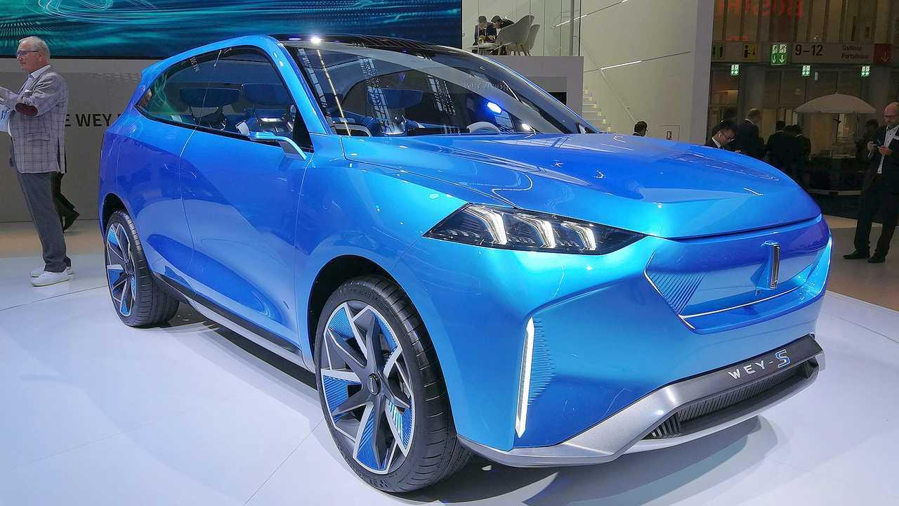 IAA 2019 - Elektroautos: Wey-S