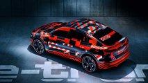 Audi e-tron Sportback: teasers
