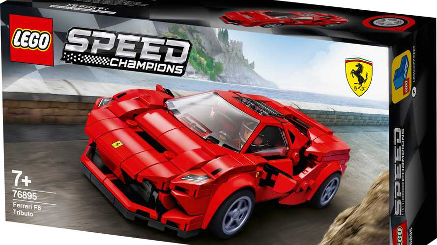 Ferrari F8 Tributo, Audi Sport Quattro S1 arrive as latest Lego kits
