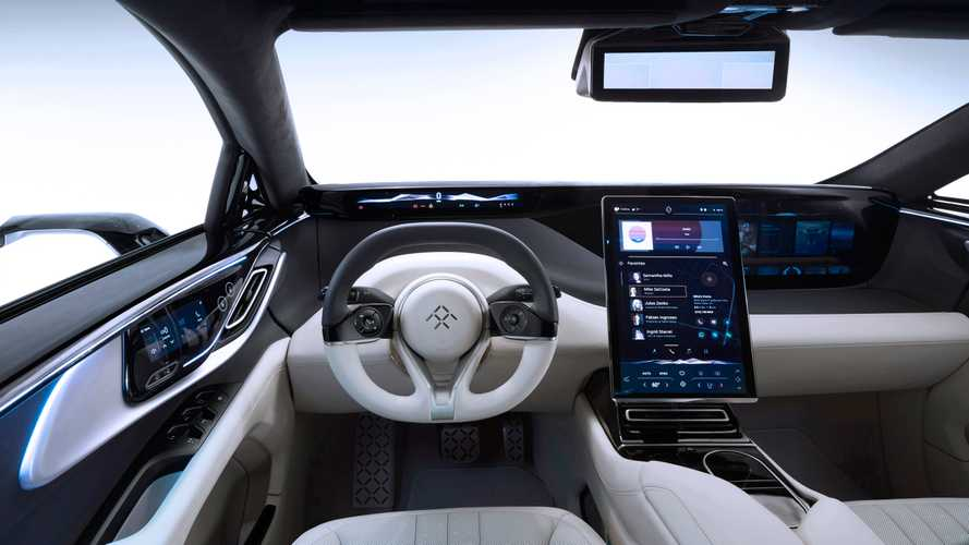 Faraday Future FF 91 Interior