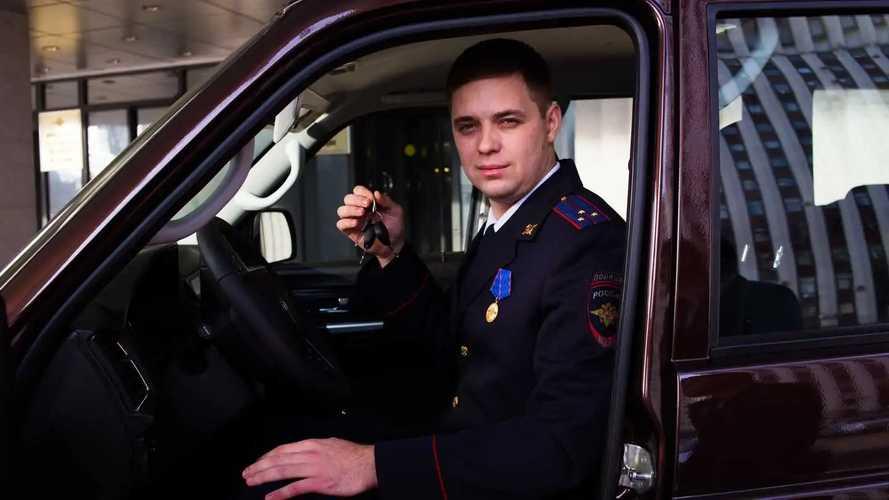 Определен идеальный автомобиль для полицейского в России
